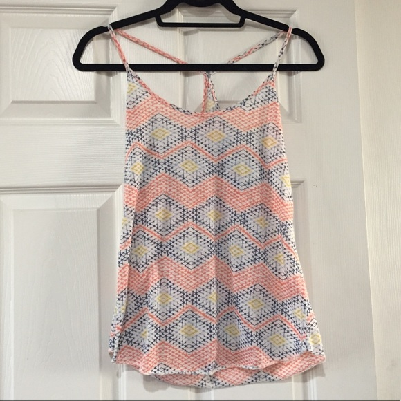 Urban Outfitters Tops - Geometric Razorback Urban Outfitters Tank